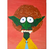 Troll With An Afro Photographic Print