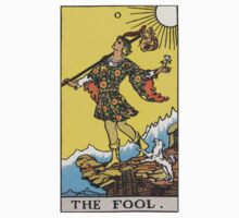 Tarot card - The Fool Kids Clothes