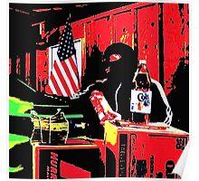 American Consumerism  Poster