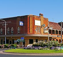Commercial Hotel, Young, New South Wales, Australia by Margaret  Hyde