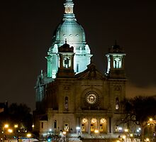 Basilica Of Saint Mary at night by JimGuy