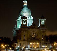 Basilica Of Saint Mary at night by JimGuy