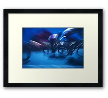The Riders 2009 No.34 Framed Print