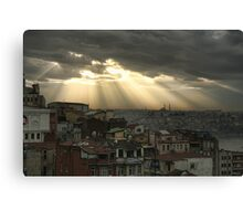 Istanbul a moment in time Canvas Print