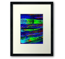 Weathered and Worn Framed Print