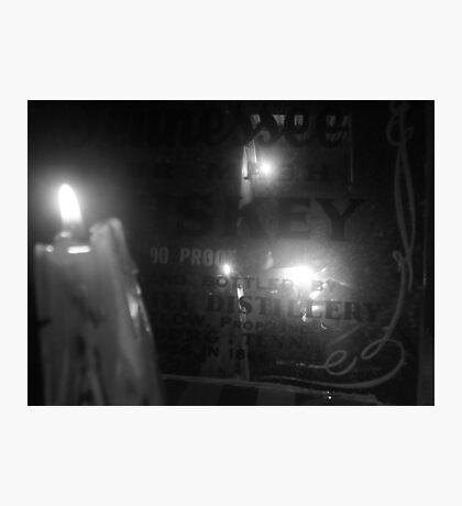 mystery photographer Photographic Print