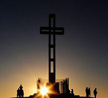 Easter Cross by Lindsay Dean