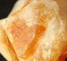 Citrine Yellow Quartz Crystal by Rumyana Whitcher