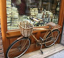 Butcher Shop Bike 1 by Tom  Reynen