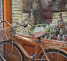 Butcher Shop Bike 2 by Tom  Reynen