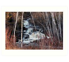 East Duchesnay Falls, North Bay, Ontario Art Print