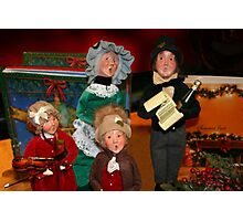 Here We Come A-Caroling... Photographic Print