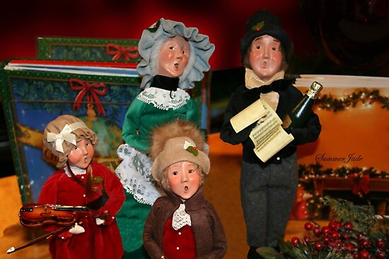 Here We Come A-Caroling... by SummerJade