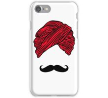 Turban Mustache  iPhone Case/Skin