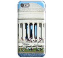 The Jefferson Memorial and the National Cherry Blossoms - Washington D.C. iPhone Case/Skin