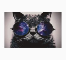 Galaxy on Cat's Glasses Kids Clothes