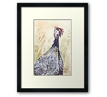 African Joy and Sorrow Framed Print