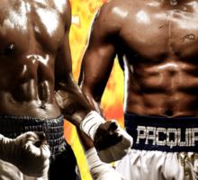 Flod mayweather Vs Many pacquiao Boxing Sticker