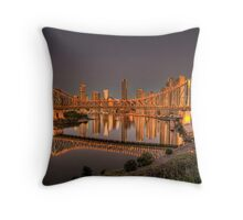 Story Bridge Throw Pillow