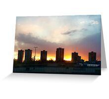 Sunset Greeting Card