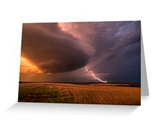 LP (Low Precipitation) SuperCell Greeting Card