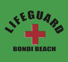 Bondi Beach Lifeguard One Piece - Short Sleeve