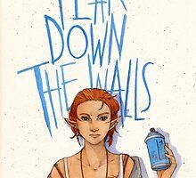 Tear Down the Wall by watercolorteas
