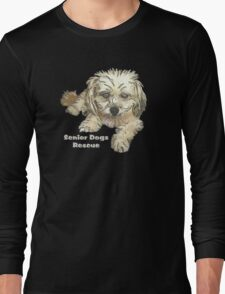 Petite Pixie for dark backgrounds Long Sleeve T-Shirt