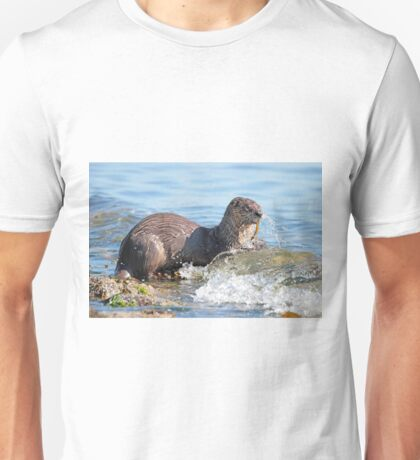 Hungry River Otter Unisex T-Shirt