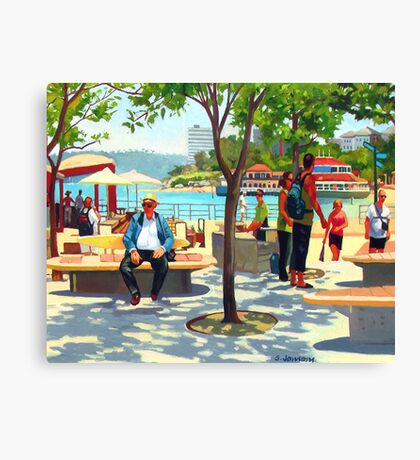 Manly Corso Canvas Print