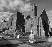 Quin Abbey (Clare) by John Quinn