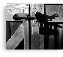 padlock Canvas Print