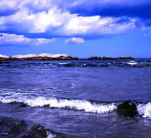 Blue Beach by introspectionx