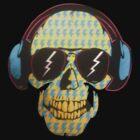 Crazy Skull by Tom Douce