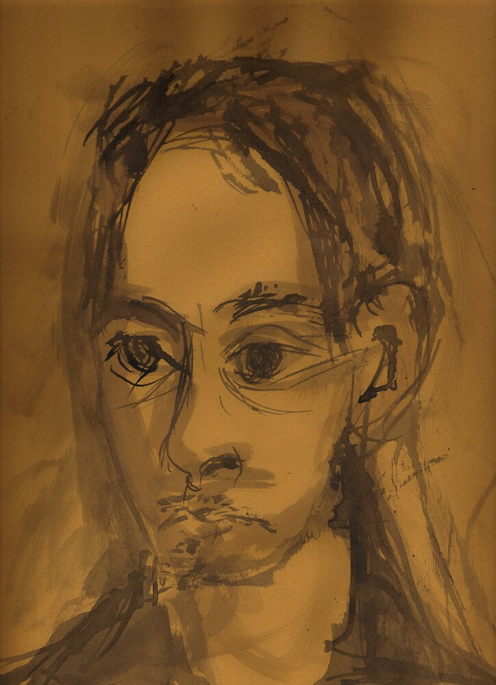 Portrait of Raphael Sabu by Peter Searle ( the Elder )