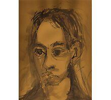 Portrait of Raphael Sabu Photographic Print