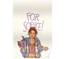 For Science! Poster