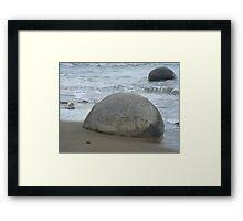 Rock Cork Framed Print