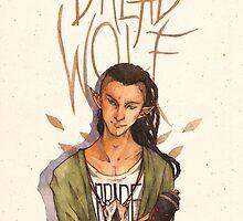 Dread Wolf by watercolorteas