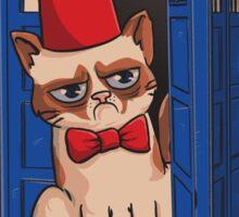 Tard is Grumpy Sticker
