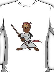 Martial Arts Monkey T-Shirt