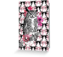 Harriette the owl Greeting Card