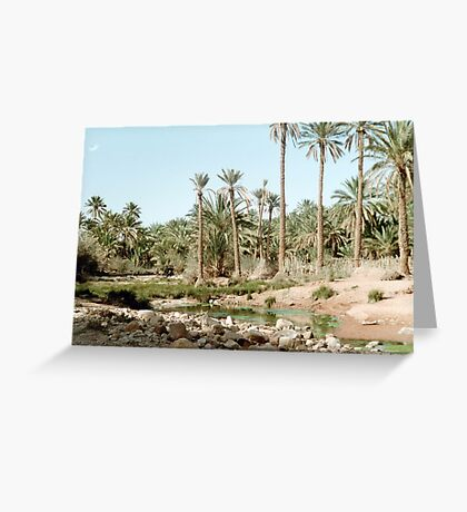 paradise for my thirsting tongue Greeting Card