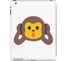 Hear No Evil Monkey iPad Case/Skin