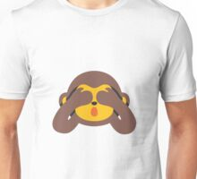 See No Evil Monkey Unisex T-Shirt