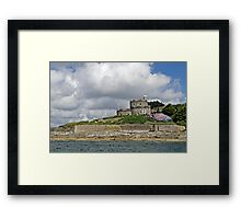 St Mawes Castle from the Ferry Framed Print
