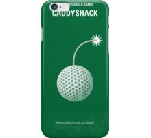 No013 My Caddyshack minimal movie poster iPhone Case/Skin