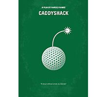No013 My Caddyshack minimal movie poster Photographic Print