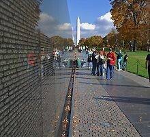 Wall of reflection by Hicksy