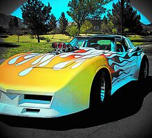 1,000 Horse Power Corvette Rocket... by Rita  H. Ireland
